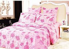 Комплект постельного белья для семьи ARYA жаккард Beatrice Розовый (2 пододеяльника)