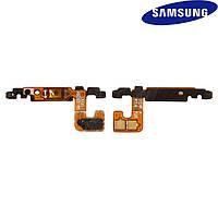 Шлейф для Samsung G928 Galaxy S6 EDGE+, кнопки включения, с компонентами (оригинальный)