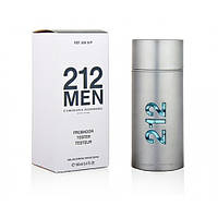 Carolina Herrera 212 Men edt 100 ml TESTER мужской