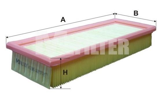 Фильтр воздушный M-Filter K196 (043 AP)