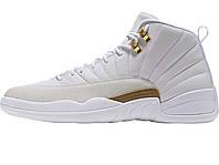 Баскетбольные кроссовки Nike Air Jordan 12 Ovo White