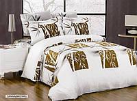 Постельное белье ARYA Бамбук Canna Коричневый - коричневий