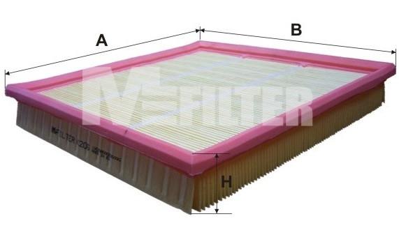 Фильтр воздушный M-Filter K206 (046/1 AP)