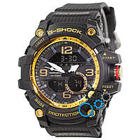 Черные часы casio g-shock, часы касио