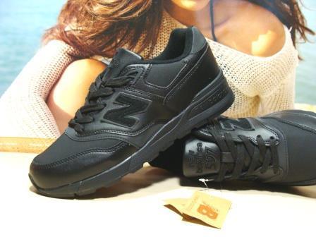 Мужские кроссовки New Balance 597 (реплика) черные 41 р.