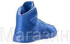 Мужские высокие кроссовки Adidas Originals Tubular Invader Адидас Тубулар синие, фото 3