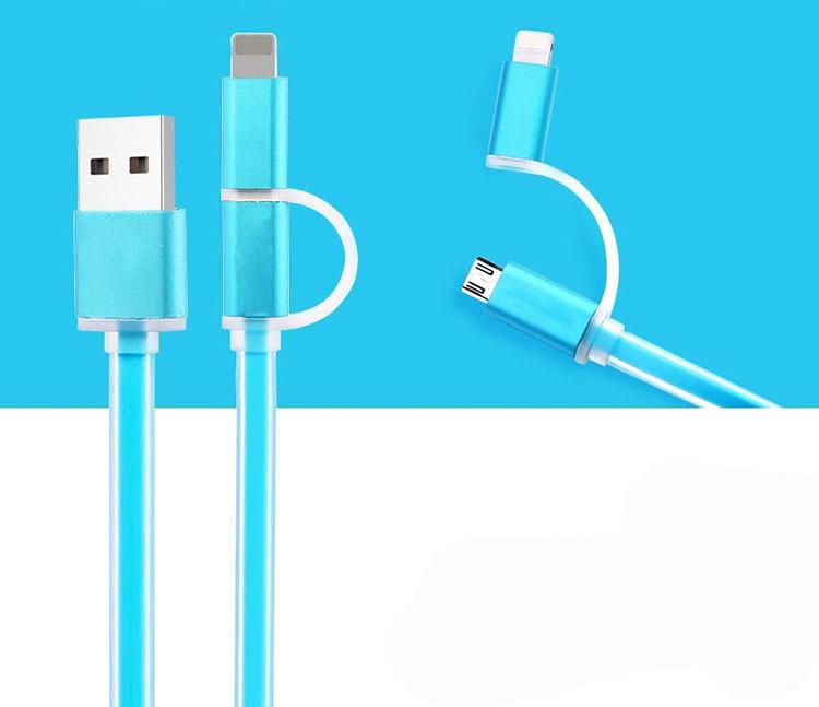 Універсальний USB-кабель 2 в 1