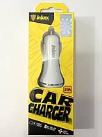 Зарядное устройство автомобильное Inkax CD-12 2x2.1A
