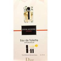 Туалетная вода с феромонами Dior Homme Sport 3х15 мл.