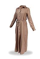 Платье-рубашка женское 714