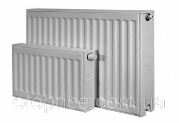 Стальной панельный радиатор Kermi тип 22 высота 500, бок.