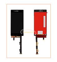 Дисплей Lenovo Vibe Shot Z90 с сенсором (тачскрином) Black Original