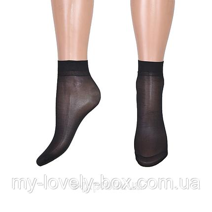 Носки «Ласточка» бамбук 30 den Чёрный (C232/BL/3000) | 3000 пар, фото 2