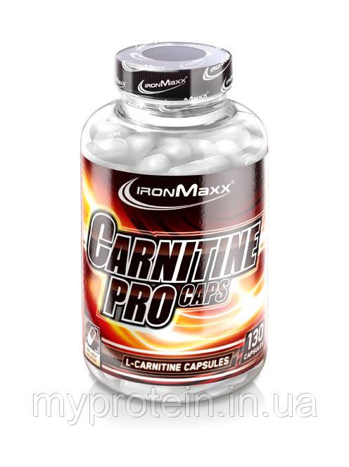 IronMaxx Карнитин Carnitine PRO caps130 caps