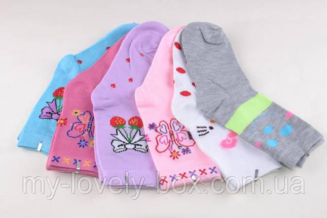 Детские носки на девочку (D3102/720)   720 пар, фото 2
