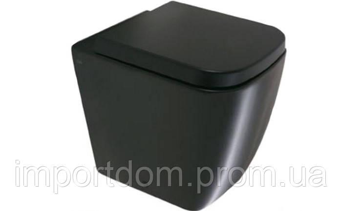 Унитаз напольный Globo Stone SSN01.AR черный
