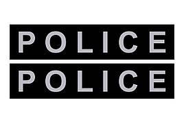 Змінний напис для шлеї Police № 1, 2 та нашийника № 2