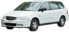 Защиты двигателя на Honda Shuttle (1995-2001)