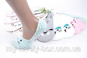 Женские носки-следки БАМБУКОВЫЕ с узором (SL801/11/600) | 600 пар, фото 2