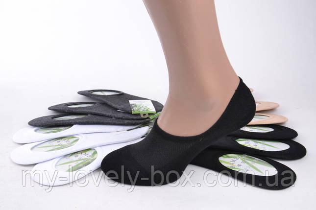 Мужские Следы-Носки сеточка БАМБУК с силиконом (SL801/1/600) | 600 пар, фото 2