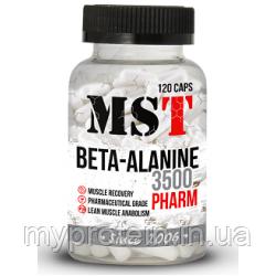 MST Аминокислоты Beta-Alanine 3500 120 caps