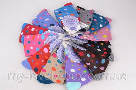 Женские носки цветные с узором (YB02/480) | 480 пар, фото 2