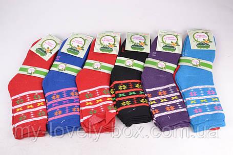 Носки женские махровые BAMBOO  (YBJ001/360) | 360 пар, фото 2