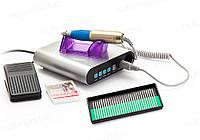 Фрезер для маникюра, педикюра с LCD дисплеем + НАСАДКИ В ПОДАРОК 35Вт 35000 об. В НАЛИЧИИ