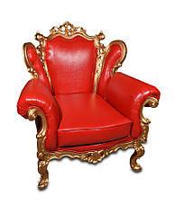 Крісло Елія з різьбою, фото 2
