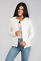 Пиджак кардиган женский на молнии р.42-48 C204-1