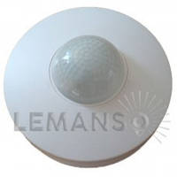 Датчик движения LEMANSO LM653 360° белый