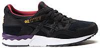 Мужские кроссовки Asics Gel Lyte 5 Black Асикс Гель Лайт 5 черные