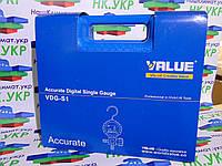 Электронный одновентельный  коллектор VALUE VDG S1 (R 22,32,290,410,1234,134,404,407,507) с шлангами.
