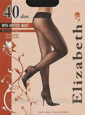 Колготки Elizabeth 40 den Vita Bassa Nero р.4 (00118/50) | 50 шт., фото 2