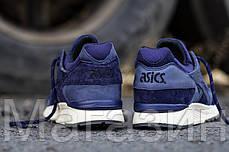Мужские кроссовки Asics Gel Lyte 5 Асикс Гель Лайт 5 синие, фото 3