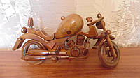 Мотоцикл деревянный УЦЕНКА