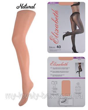 Колготки Elizabeth 40 den Bikini Charm Natural р.3 (00120/50) | 50 шт., фото 2