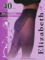 Колготки Elizabeth 40 den Bikini Charm Cappuccino р.2 (00120/50) | 50 шт., фото 2