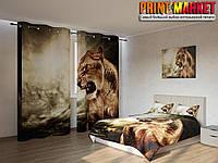 Фотокомплект рычащий тигр