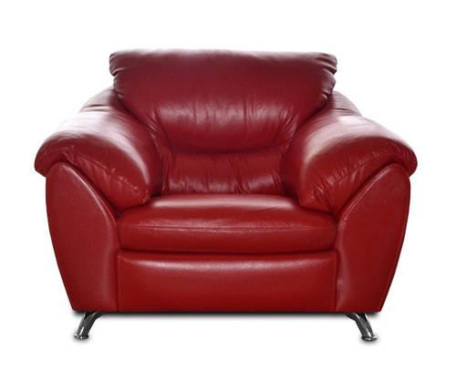 Современное кожаное кресло - ЭЛЬЗА (120 см)