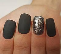 Как создать дизайн ногтей при помощи блесток
