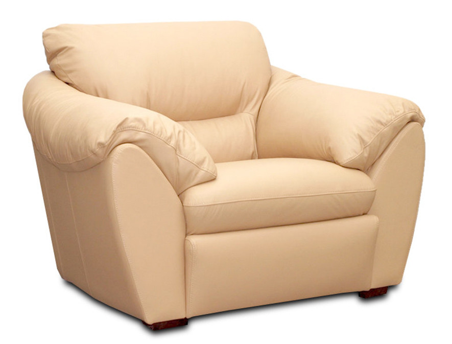 Стильне шкіряне крісло ЕЛЕГІЯ (120 см)