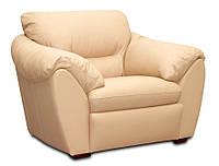 Стильное кожаное кресло ЭЛЕГИЯ (120 см)