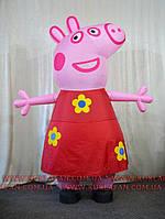 Надувной костюм Свинка Пеппа