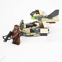 Детский конструктор Боевой Корабль Вуки (Star Wars, аналог Lego 93 предметов)