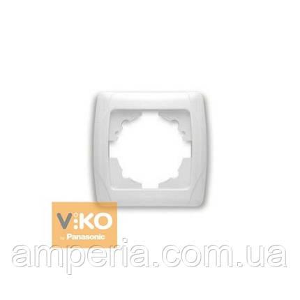 Купить Рамка 1-я белая ViKO Carmen 90571001  продажа, цена в Киеве ... f3770ebe08b