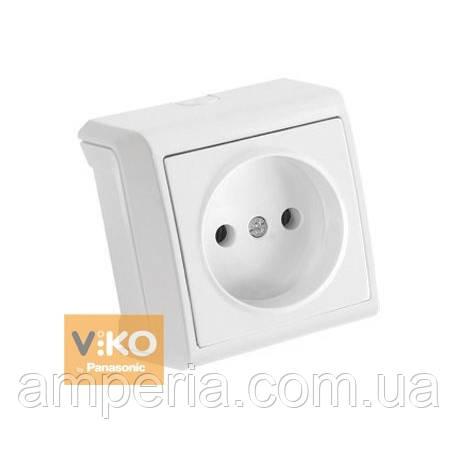 Розетка без заземления белая ViKO Vera 90681007 -
