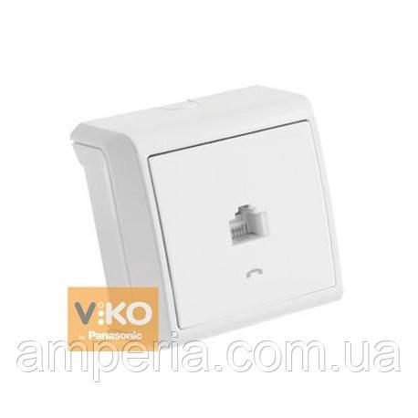 Розетка TF белая ViKO Vera 90681013