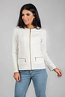Пиджак кардиган женский на молнии р.42-48 C205-1