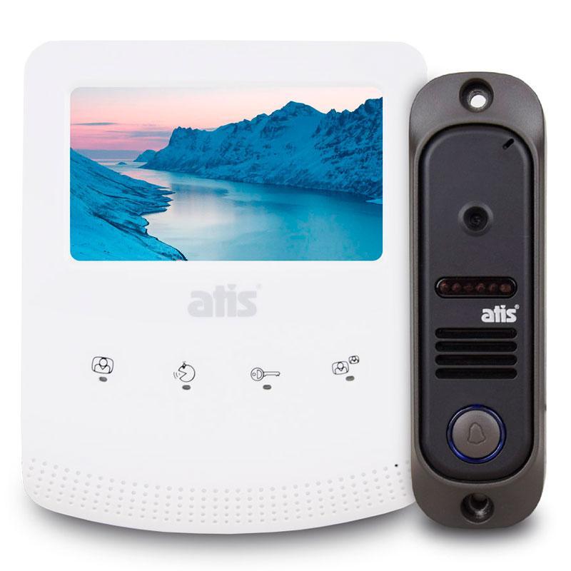Комплект видеодомофона ATIS AD-430W Kit box - Secur Service в Киеве